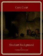 Cave Camp : Stockart Background