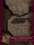 Battlemap : Fortified Cave Entrance