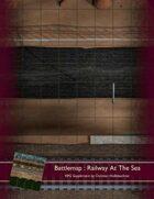 Battlemap : Railway At The Sea