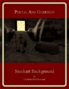 Portal And Guardian : Stockart Background