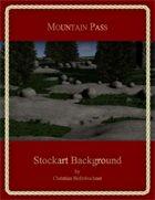Mountain Pass : Stockart Background