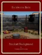 Backwater Bath : Stockart Background