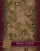 Battlemap : Tree Stumps
