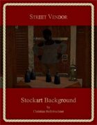 Street Vendor : Stockart Background