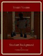 Street Vendor : Stockart Background