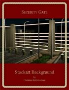 Security Gate : Stockart Background