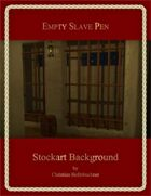 Empty Slave Pen : Stockart Background