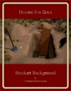 Digging For Gold : Stockart Background