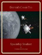 Drifter's Cargo Tug : Spaceship Stockart