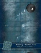 Battlemap : Minefield At Sea