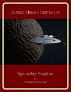 Guided Missile Destroyer : Spaceship Stockart
