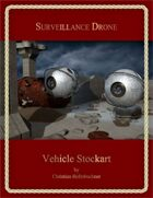 Surveillance Drone : Vehicle Stockart