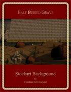 Half Buried Grave : Stockart Background