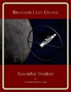 Broadside Light Cruiser : Spaceship Stockart