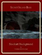 Secret Island Base : Stockart Background