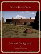 Buried Stone Circle : Stockart Background