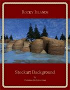 Rocky Islands : Stockart Background