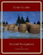 Rocky Islands : Stockart Background