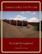 Abandoned Railway Wagons : Stockart Background