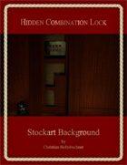 Hidden Combination Lock : Stockart Background