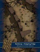Battlemap : Hedgehog Ridge