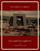 Buried Gatehouse : Stockart Background