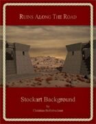 Ruins Along The Road : Stockart Background