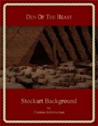 Den Of The Beast : Stockart Background