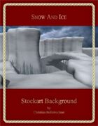 Snow And Ice : Stockart Background