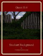 Grass Hut : Stockart Background