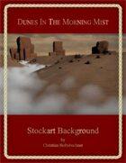 Dunes In The Morning Mist : Stockart Background