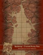 Battlemap : Cracked Rocky Plain