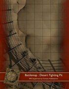 Battlemap : Desert Fighting Pit