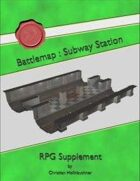Battlemap : Subway Station