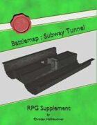 Battlemap : Subway Tunnel