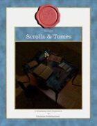 Stockart : Scrolls & Tomes