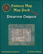 Dwarven Outpost - Dungeon Map