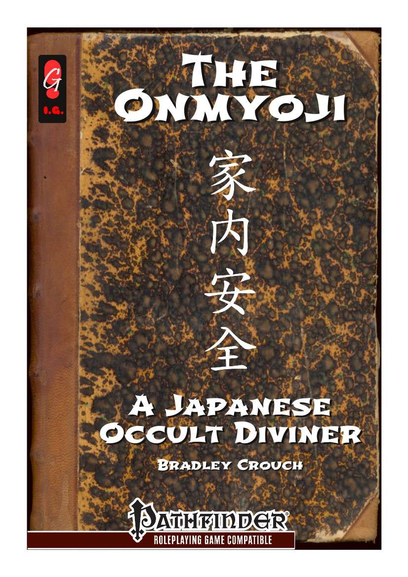 The Onmyoji - A Japanese Occult Diviner [PFRPG]