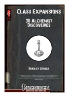 Class Expansions: Alchemist Discoveries [PFRPG]