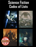 Science Fiction Codex of Lists (2nd Edition)
