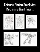 Science Fiction Stock Art: Mecha and Giant Robots