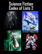 Science Fiction Codex of Lists 2 (2nd Edition)