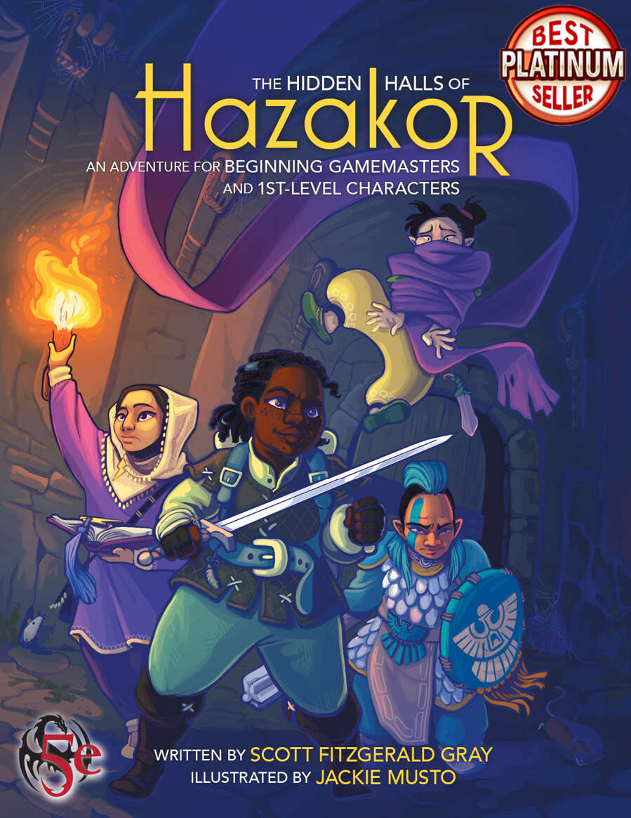 Cover of The Hidden Halls of Hazakor