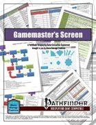 Pathfinder GM Screen Inserts (PFRPG)