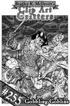 Clipart Critters 255 - Gobbling Goblins