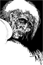 Clipart Critters 262 - Head Zombie