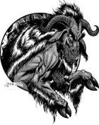 Clipart Critters 287 - The Devil Goat my Soul