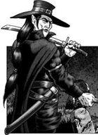 Clipart Critters 288: The Vampire, Vampire Hunter