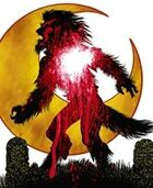 Clip Art Critters 308-Bloody Moon