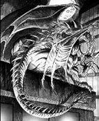 Clipart Critters 327 - Modern Dragon